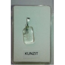 Kунцит No.1 - висулка, сребро 925