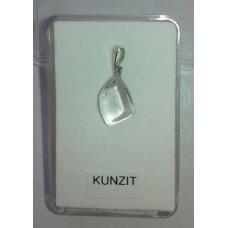 Kунцит No.2 - висулка, сребро 925