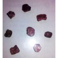 Рубин - натурални,необработени камъни