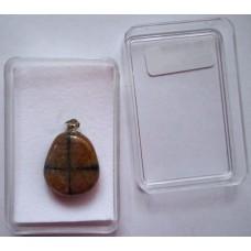 Kръстов камък / хиастолит / - висулка