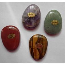 Масажен камък за палеца: тигрово око, аметист,авентюрин, червен яспис