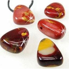 Мокаит  -  пробит барабаносан камък