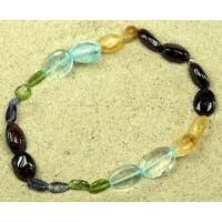 Гривна- многоцветна,със скъпоценни камъни