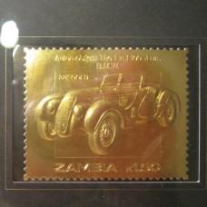 Златна юбилейна пощенска марка BMW 22 карата