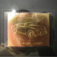 Златна юбилейна пощенска марка Porsche 22 карата